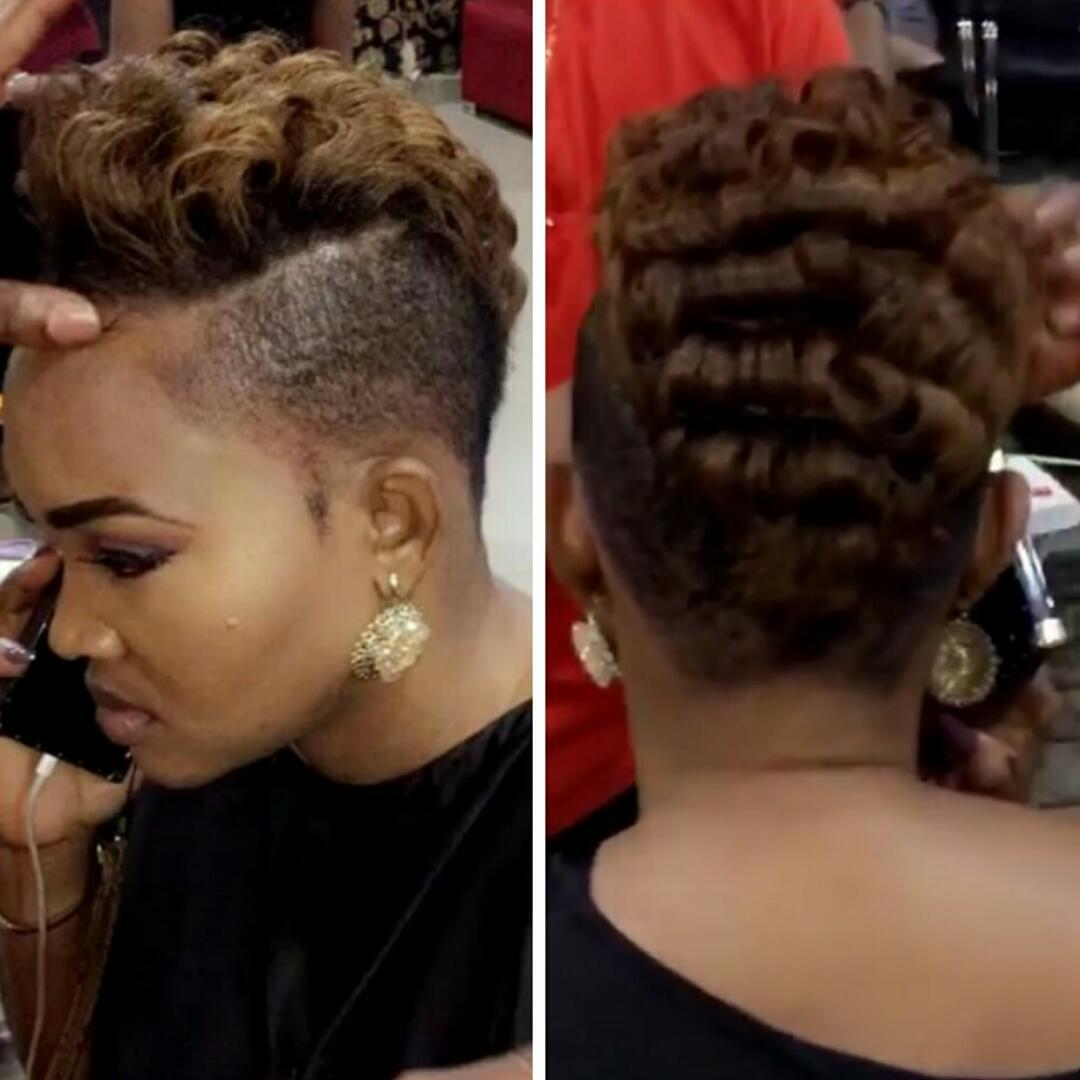 Mercy Aigbe-Gentry Stuns In Anita Baker Haircut