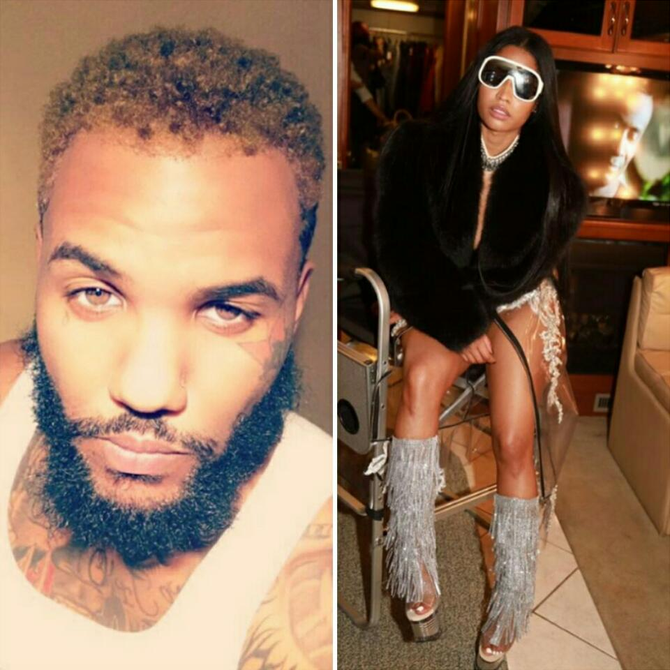The Game Unfollows Everyone Except Nicki Minaj On His IG Page