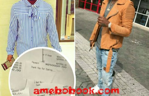 Hushpuppi Has Shaded Davido While Revealing He Spent N11.5m At A Nightclub In Lagos