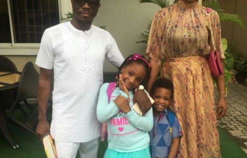 Julius Agwu And His Family Are Stylish On Family Day Out