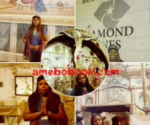Nigerian Lady Toyosi Akerele-Ogunsiji Has Visited The Birth Place Of Jesus