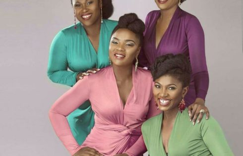 Gorgeous Nollywood's Champions Chioma Akpotha, Uche Jombo, Omoni Oboli And Ufuoma Mcdermott Are In Wow Magazine