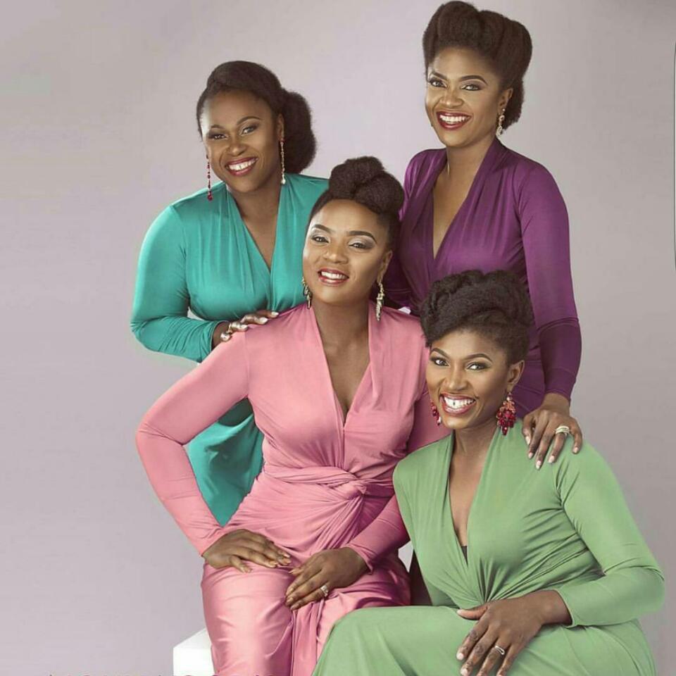 Gorgeous Nollywood's Champions Chioma Akpotha, Uche Jombo, Omoni Oboli And Ufuoma Mcdermott Are In Wow Magazine