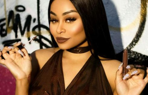 Blac Chyna Flashes Flesh In Serious Sex Appeal For Lashed Cosmetics Line