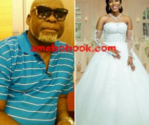 Victoria Lebene Mekpah: See How Gorgeous Ghanaian Actor Kofi Adjorlolo's Bride-to-be Looks In Wedding Gown