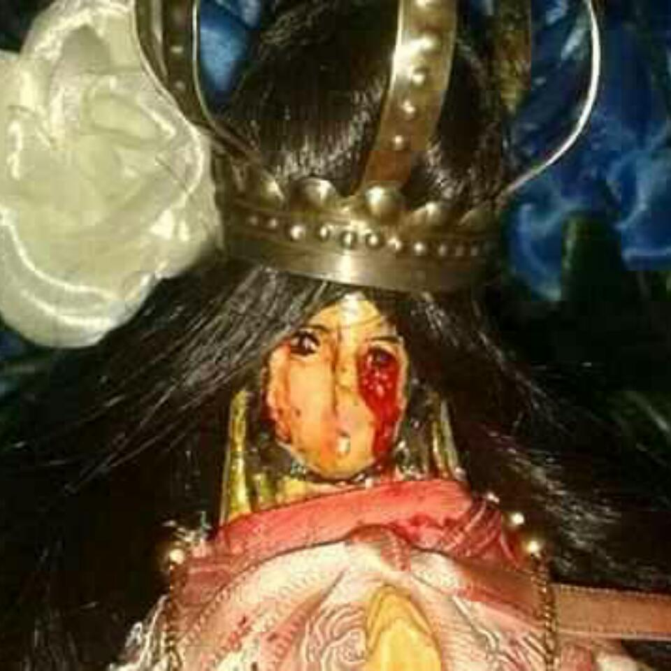Virgin Mary Statue 'crying BLOOD' In Argentina