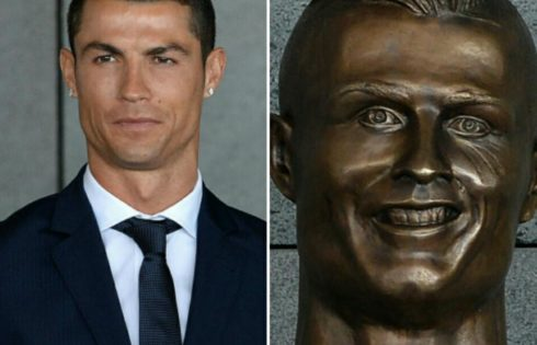 How Twitter Reacted To Cristiano Ronaldo's Hideous Bronze Statue