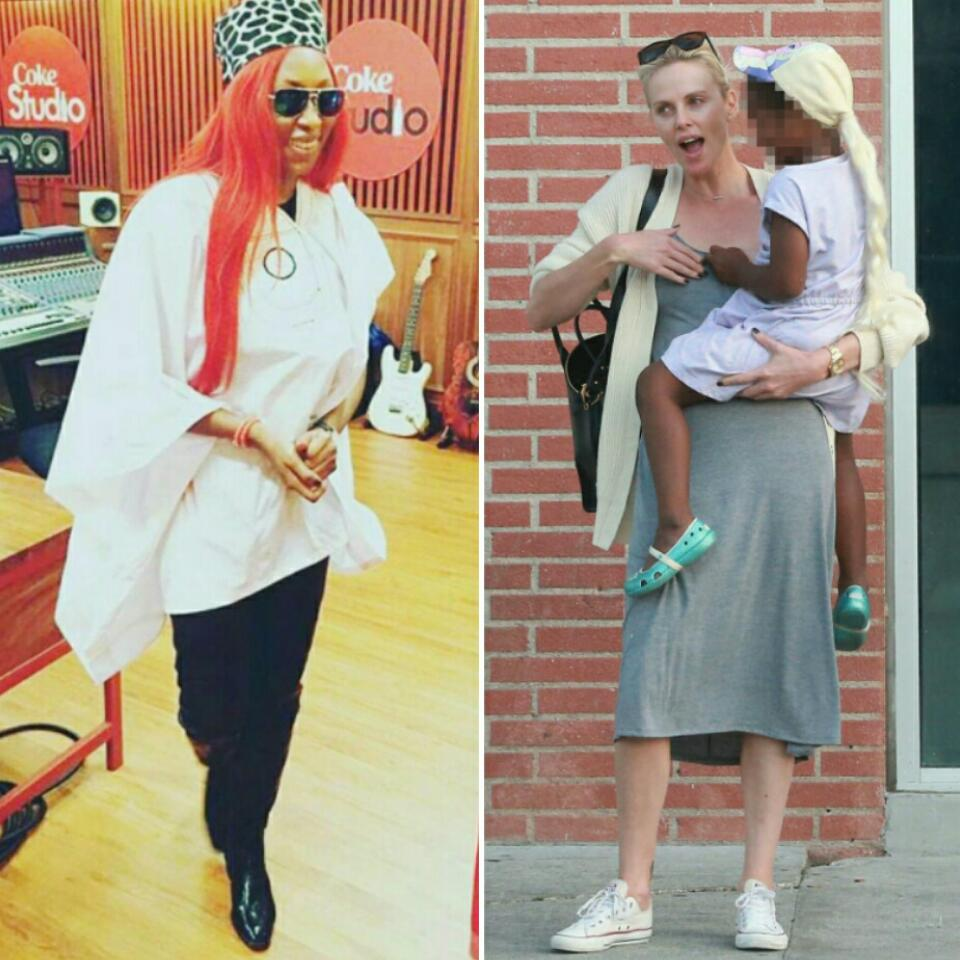 Cynthia Morgan Unleashed Anger On Hollywood Star Charlize Theron For Dressing Her Adopted 5-Year-Old Son As A Girl