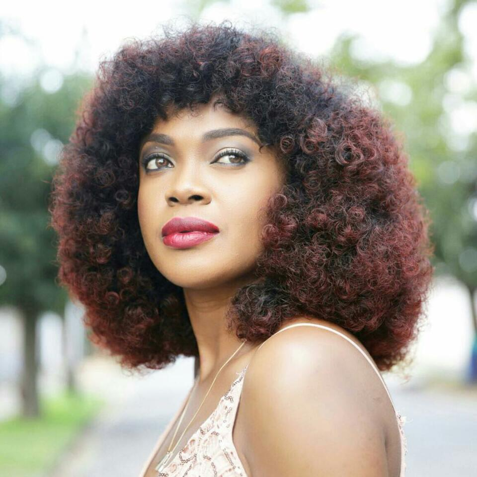 See How Unrecognizable Nollywood Actress Omoni Oboli Is In A Wig