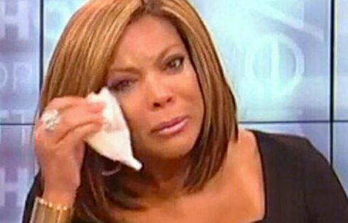 Wendy Williams Broke Down In Tears Over Chris Brown