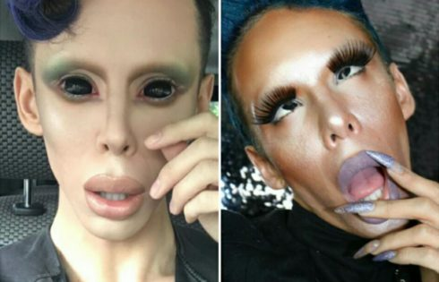Vinny Ohh Spent $50K On Plastic Surgery To Transform Into Genderless Alien