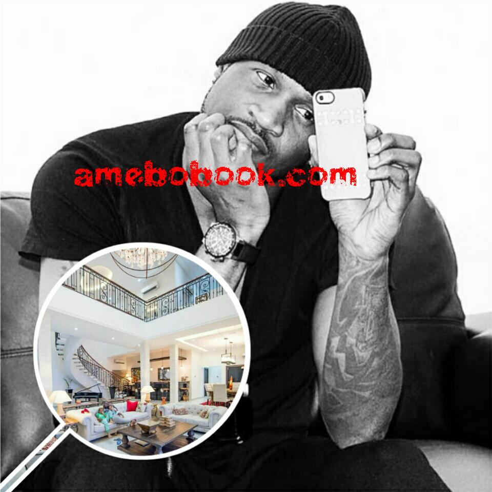Peter Okoye Shows Off His Home