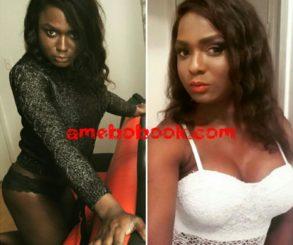Nigerian transgender Noni Salma