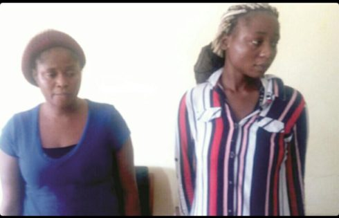 Two Nigerian Women Arrested And Charged With Human Trafficking In Ghana