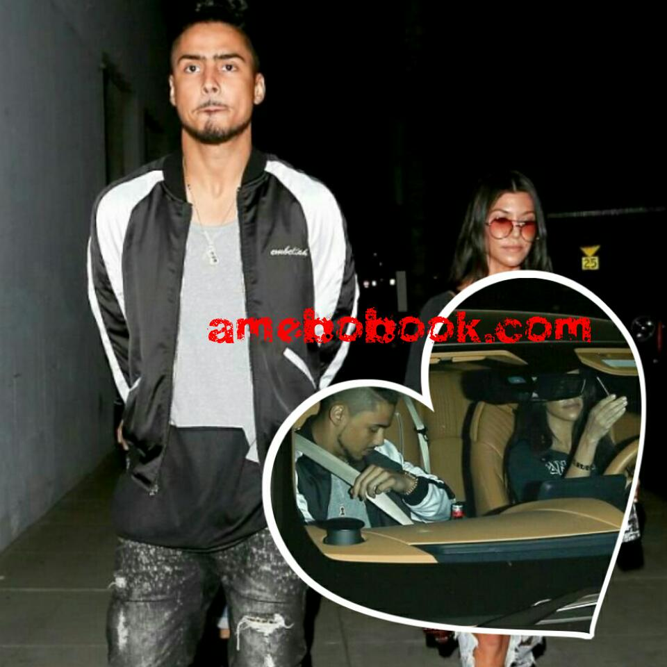 Kourtney Kardashian Has Been Spotted With Diddy's 25-Year-Old Adopted Son Quincy Brown