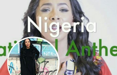 TBoss' Sister Wendy Recites The National Anthem To Shame Haters But Nigerians Slam Her