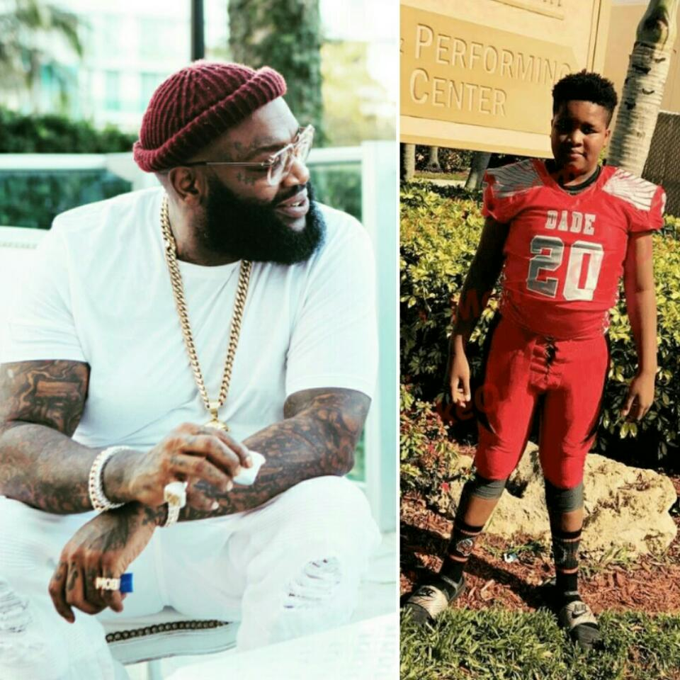 Rick Ross' Baby Mama Has Put Him On Blast For Abandoning Their Son William Roberts III