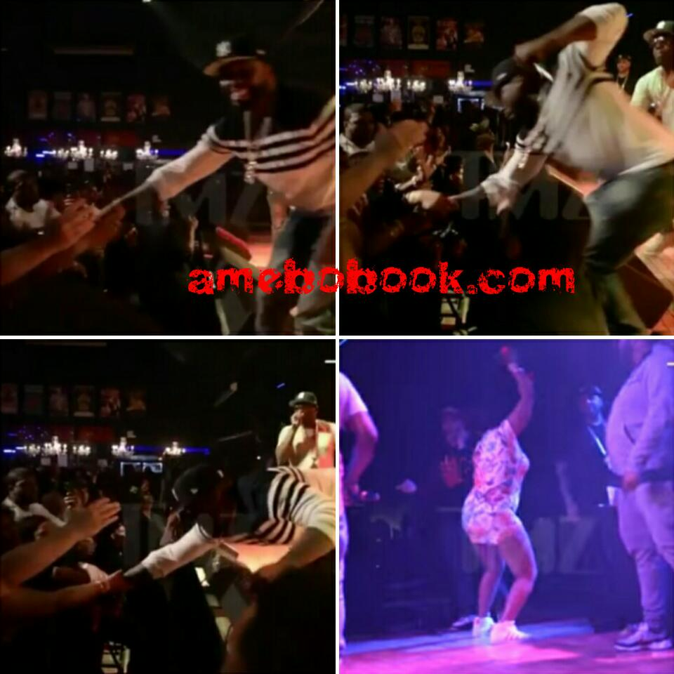 50 Cent Has Been Caught On Video PUNCHING A Female Fan In The Chest During Gig In Baltimore
