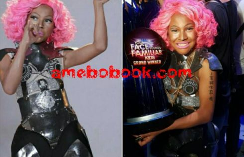 Teen Boy Who Transformed Into Nicki Minaj On Your Face Sounds Familiar Kids Talent Show
