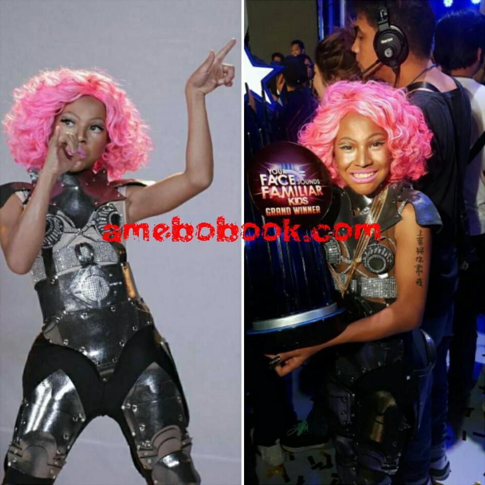 Teen Boy Who Transformed Into Nicki Minaj On Your Face Sounds Familiar Kids Talent Show