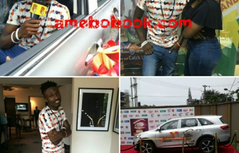Big Brother Naija 2017 Winner Efe Has Received His SUV