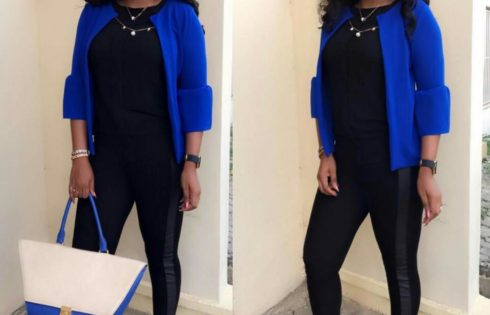 Mercy Aigbe Wants You To See How She Rolls