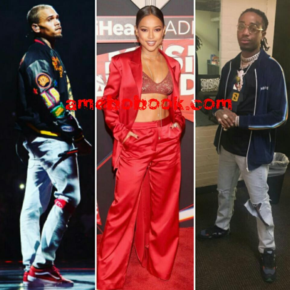 Chris Brown Feels STABBED IN THE BACK And Is Furious With Quavo For Dating Karrueche Tran