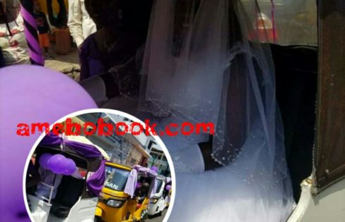 Wedding Day Photos Of A Couple In A Convoy Of Keke Napeps