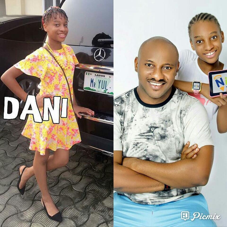 Yul Edochie Celebrates Daughter Dani As She Marks 12th Birthday
