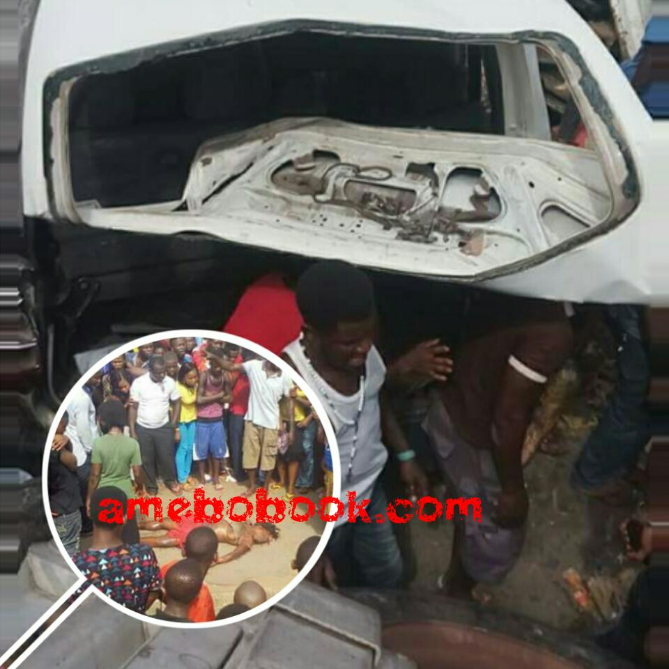 Graphic Photos From The Scene Of The Dangote Truck