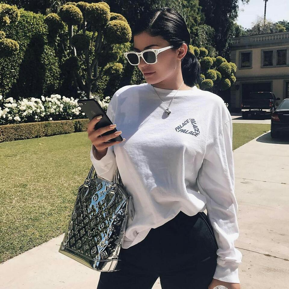 Kylie Jenner Poses Topless In Provocatively Sexy Instagram video