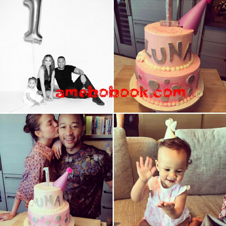 Chrissy Teigen And John Legend's Daughter Luna Enjoyed Her Birthday As She Clocked 1