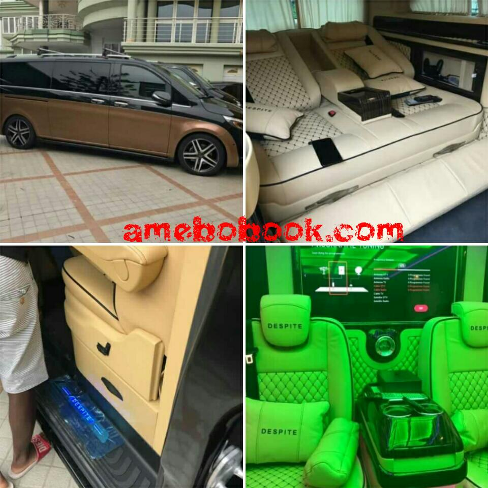 CEO of Despite Group of Companies New Luxurious Brabus Vehicle