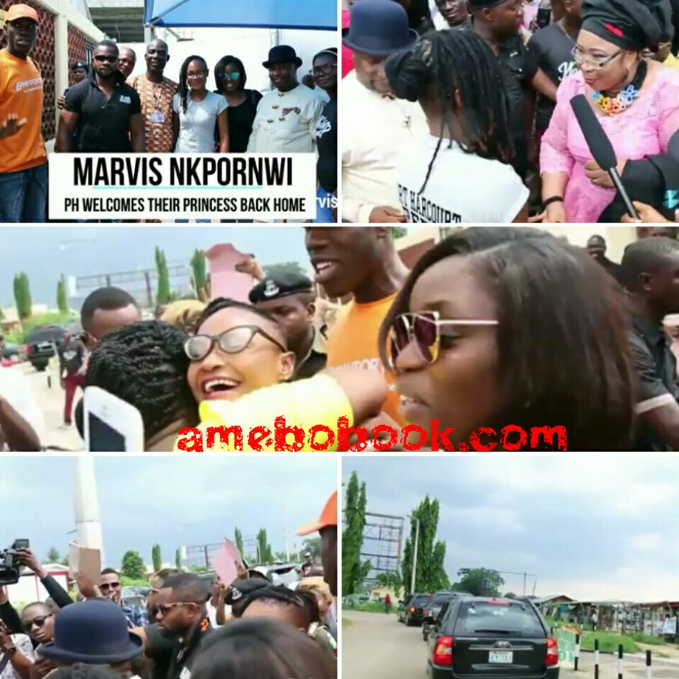Port Harcourt Welcomes Their Princess Back As Marvis Nkpornwi Heads To The Eleme Kingdom