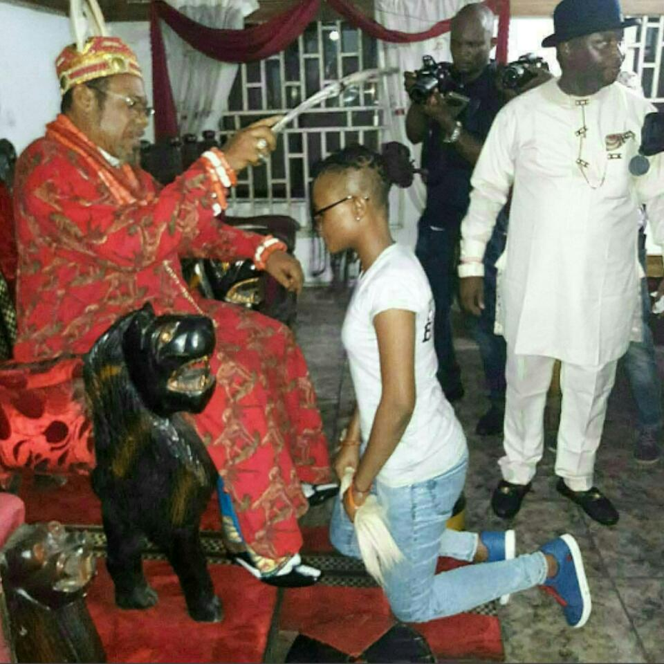 Marvis Nkpornwi Being Welcomed Home By Her Father