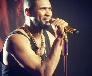 Usher Goes Blond With Shaved Sides