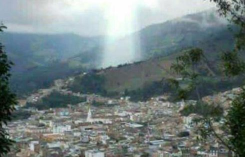 Survivors Of Landslide In Colombian City Claim Figure of JESUS CHRIST Appeared Through The Skies And Saved Them