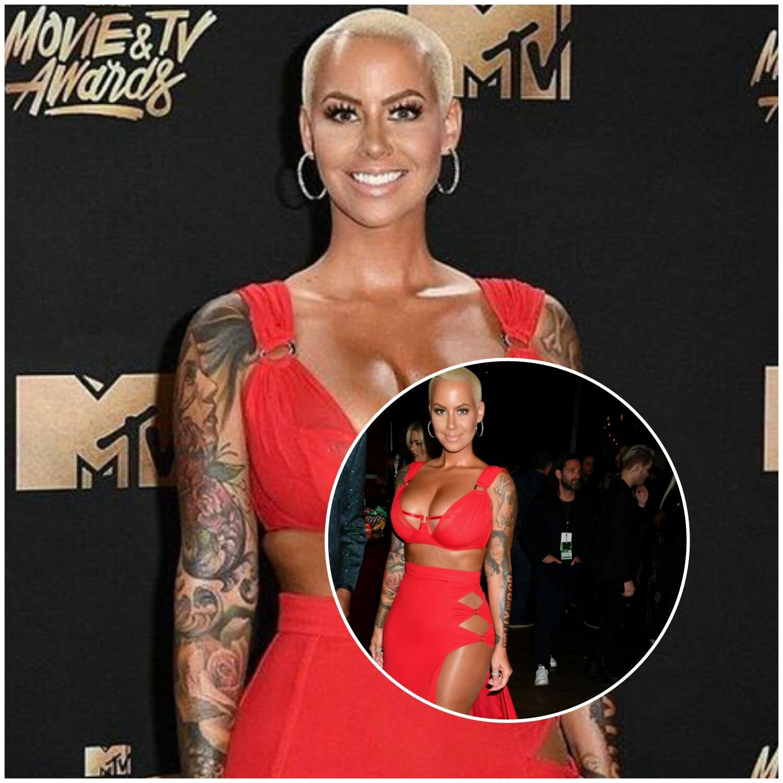 Amber Rose At 2017 MTV Movie & TV Awards
