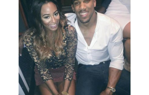 Billionaire Daughter DJ Cuppy Posted A Photo With Anthony Joshua But Twitter Hilariously Roasts Her