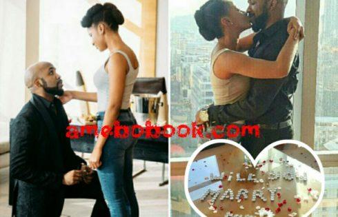 Banky W And Adesua Etomi Are Engaged