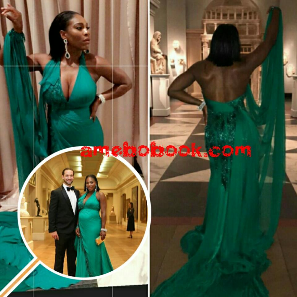 Serena Williams' Fiance Alexis Ohanian Gushes About Her At The 2017 Met Gala