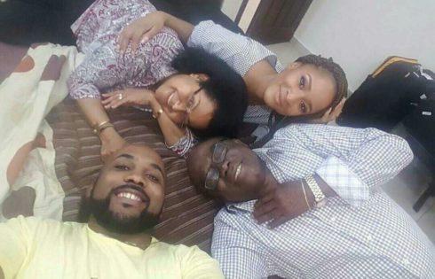 Adesua Etomi Meets Banky W's Parents