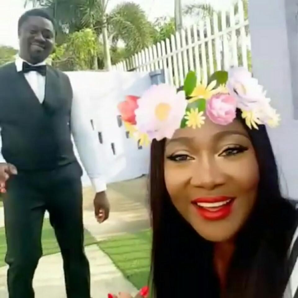 Mercy Johnson Is Celebrating Her Shy Husband Odi As His Birthday Approaches