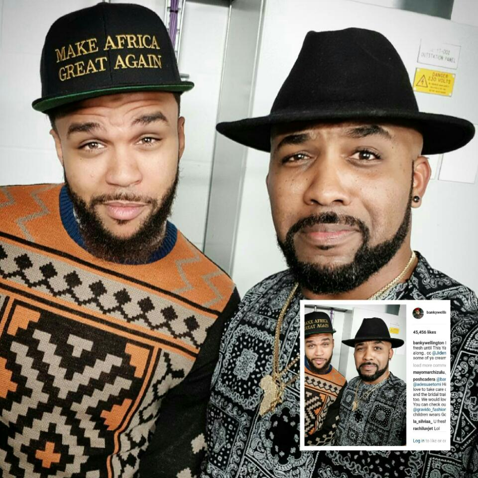 Banky W And Jidenna Pictured In New Photo