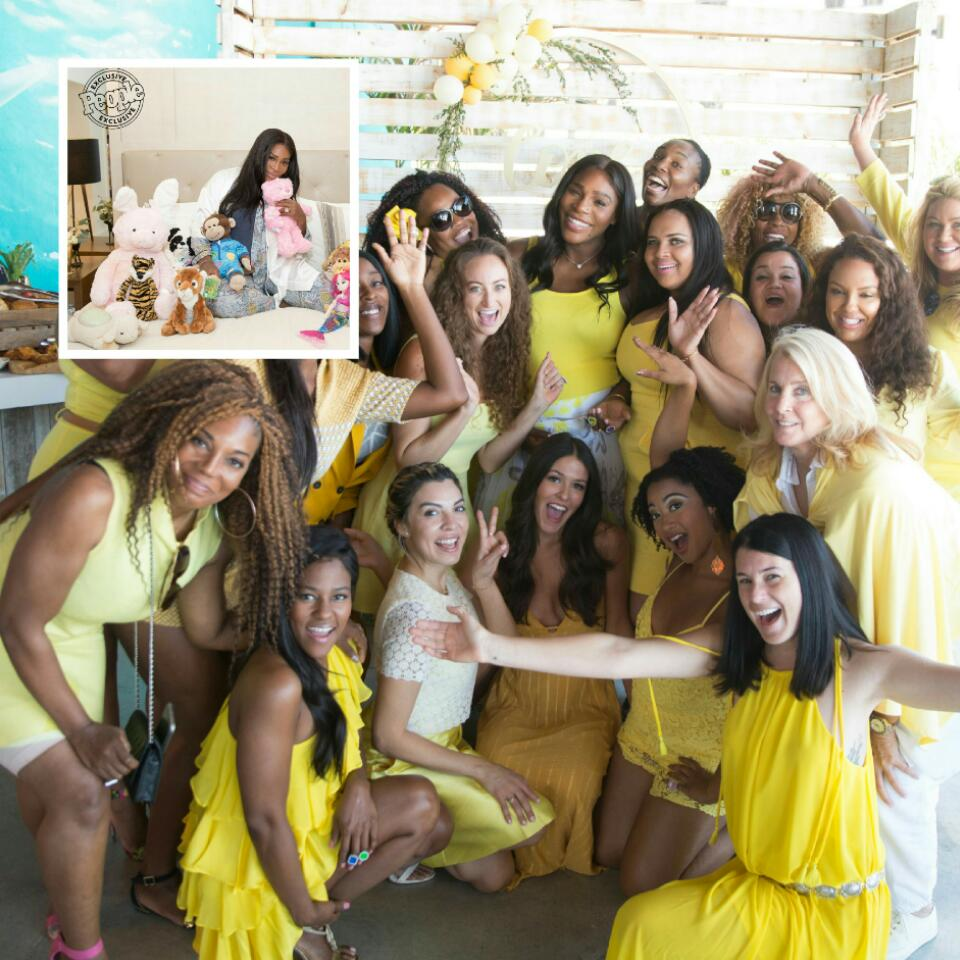 Nacho Average Bride Serena Williams 2-Day Bridal Shower