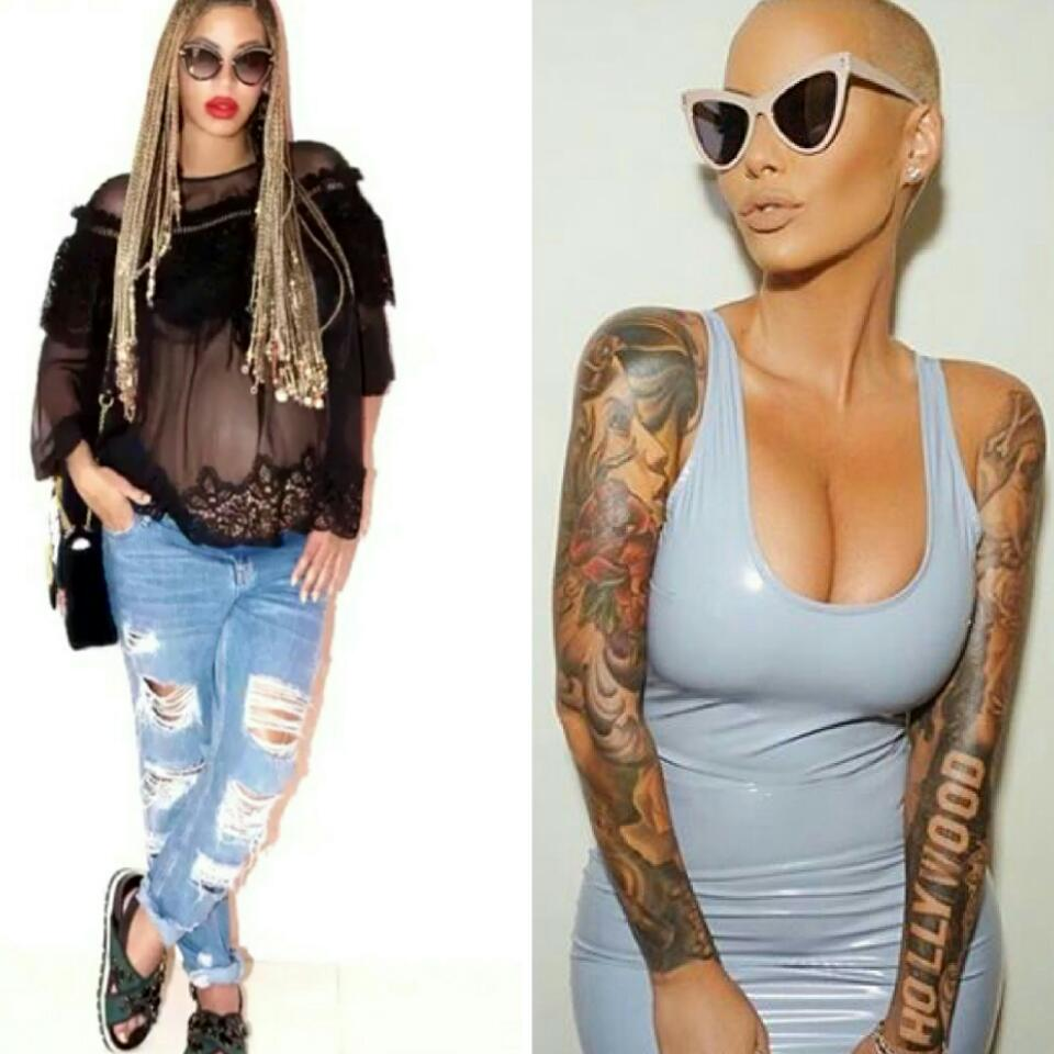 Beyonce Believes Amber Rose's 15 Minutes Of Fame Is Over