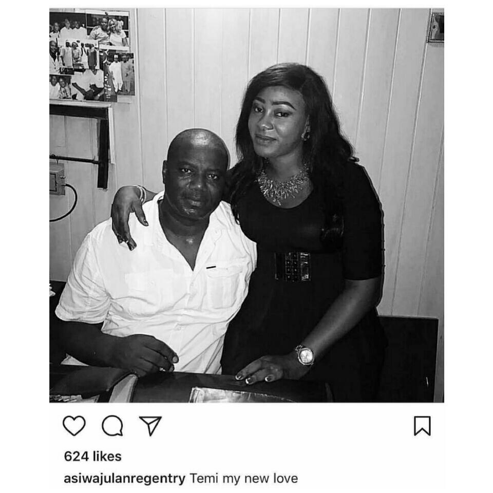 Lanre Gentry Has Shown His New Love