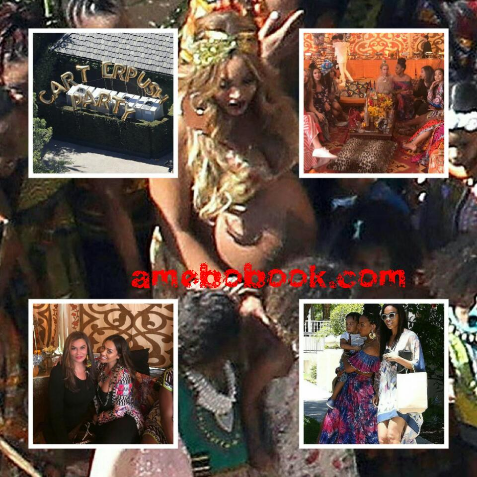 Beyonce Rocked Fela's Music In Star-studded Carter Push Party