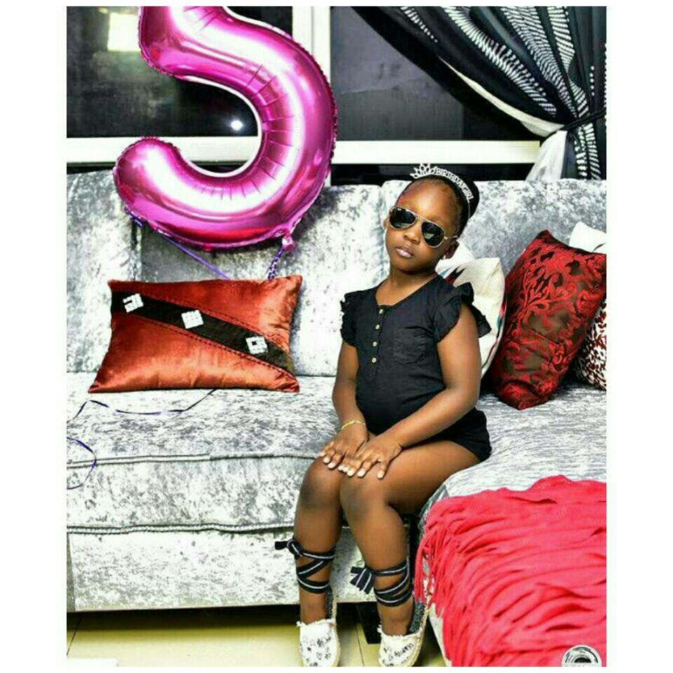 Timaya Celebrates Daughter Emmanuella's 5th Birthday
