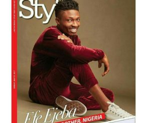 Efe Ejeba Covers ThisDay Style